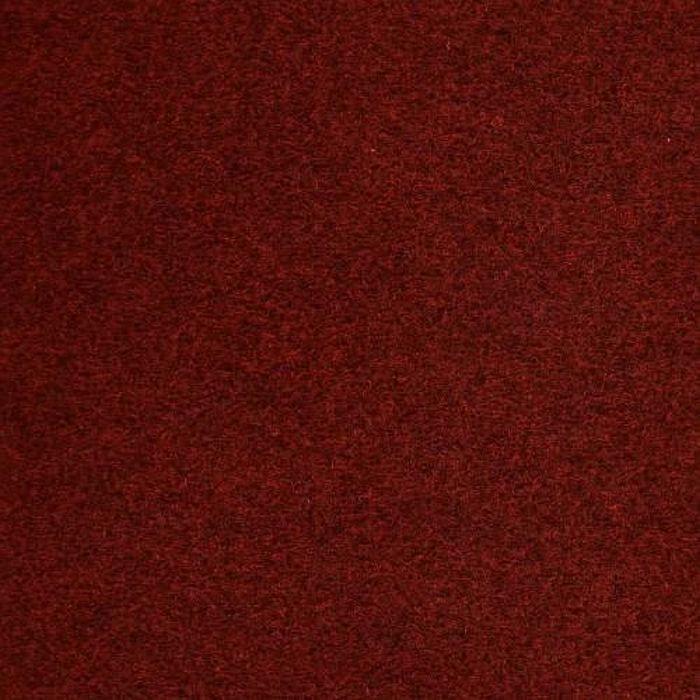 100cm x 100cm Nadelvelours Teppichfliesen MalagaMaine SL rot